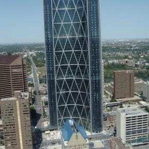 Vacanta la Calgary . Orasul